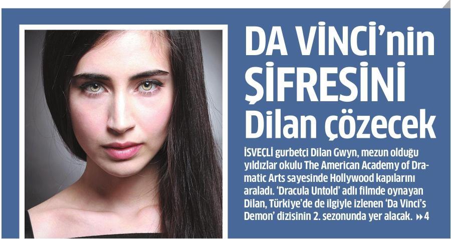 Dilan Gwyn - Star Gazetesi Haberi