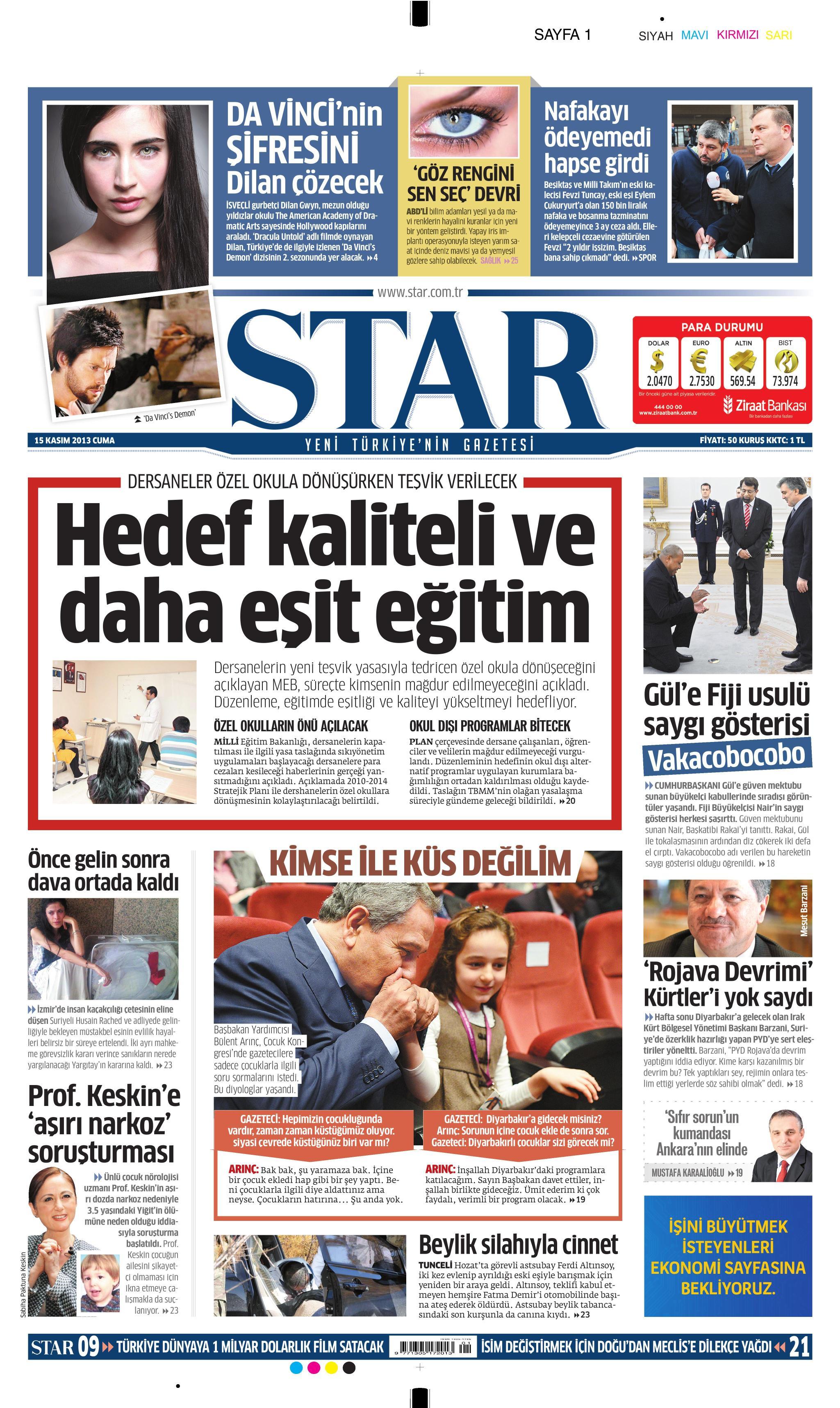 Dilan Gwyn - Star Gazetesi Haberi 3