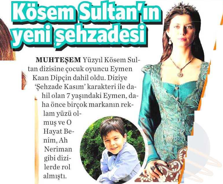 Eymen Kaan Dipçin - Vatan Gazetesi Haberi