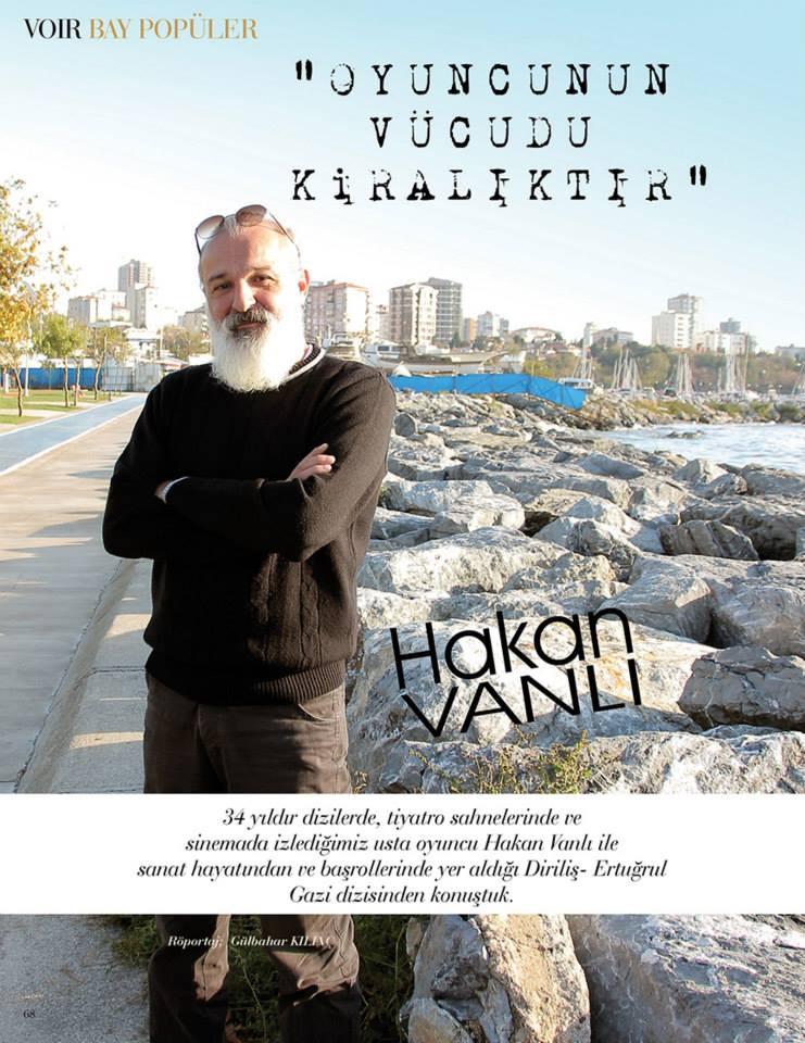 Hakan Vanlı - VOIR Magazin Röportajı