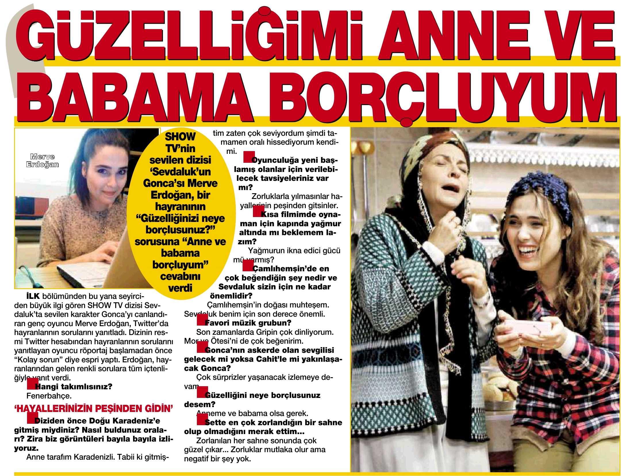 Merve Erdoğan - Hürriyet Kelebek Röportajı