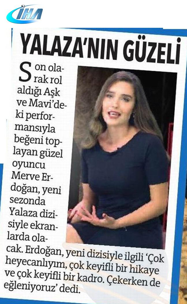 Merve Erdoğan - İHA Haberi