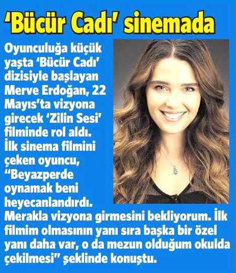 Merve Erdoğan - Milliyet Gazetesi Haberi