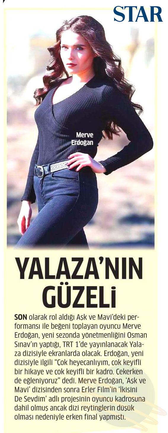 Merve Erdoğan - Star Gazetesi Haberi 1