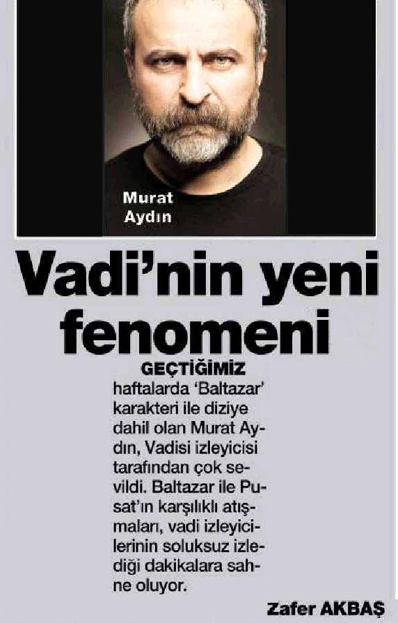 Murat Aydın - HaberTürk Magazin Haberi