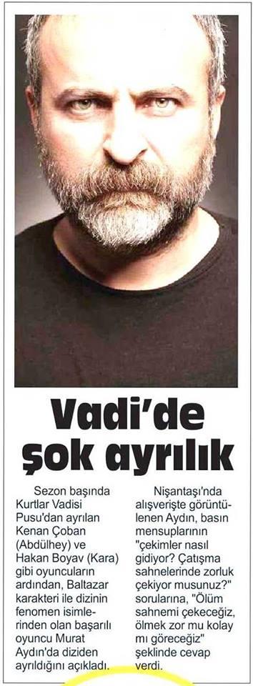 Murat Aydın - Posta Gazetesi Haberi
