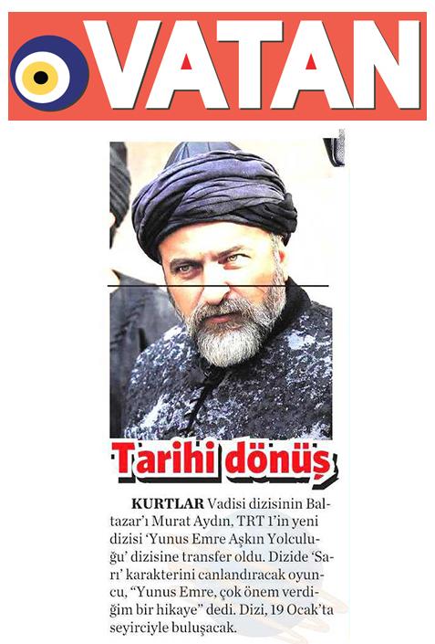 Murat Aydın - Vatan Gazetesi Haberi