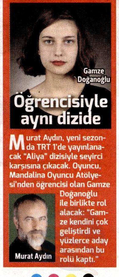 Murat Aydın ve Mandalina Oyunculuk Atölyesi - Hürriyet Kelebek Haberi 1
