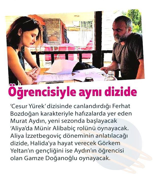 Murat Aydın ve Mandalina Oyunculuk Atölyesi - Milliyet Haberi 1