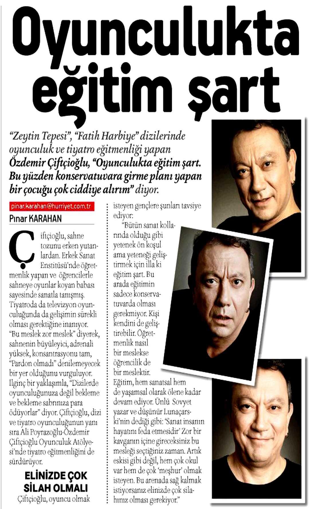 Özdemir Çiftçioğlu - Hürriyet Kampüs Röportajı