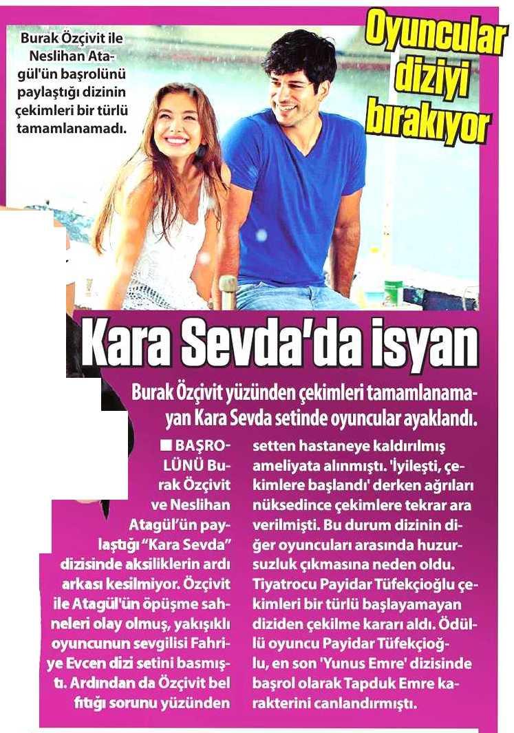 Payidar Tüfekçioğlu - Güneş Gazetesi Haberi