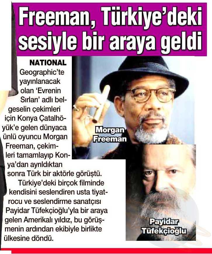 Payidar Tüfekçioğlu - HaberTürk Gazetesi Haberi