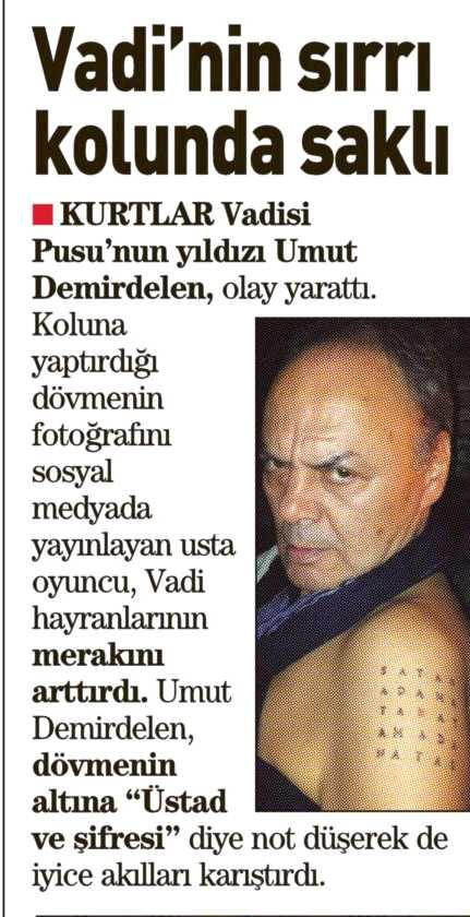 Umut Demirdelen - Sabah Gazetesi Haberi 1