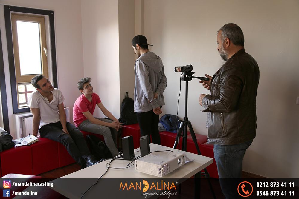 mandalina casting kamera önü oyunculuk eğitimi resimleri